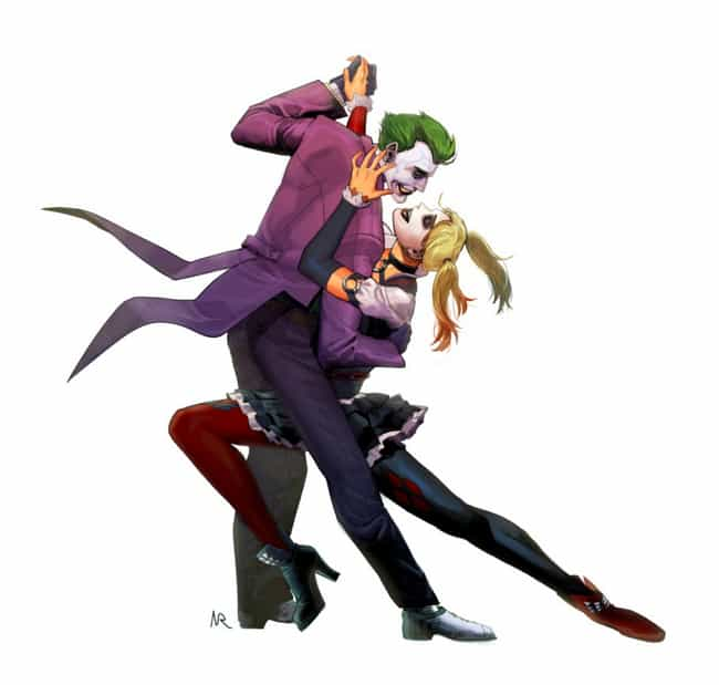 It Takes Two Twisted Clo... is listed (or ranked) 1 on the list 10 Amazing Pieces Of Joker And Harley Quinn Fan Art