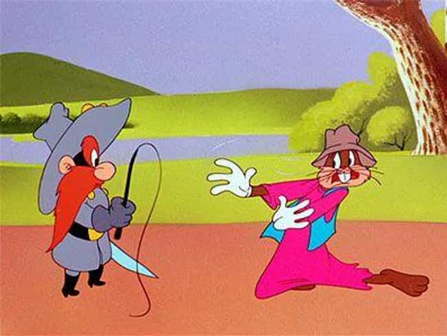 Bugs Bunny Disguises Himself A... is listed (or ranked) 7 on the list Horribly Racist Moments From Looney Tunes You Missed Growing Up