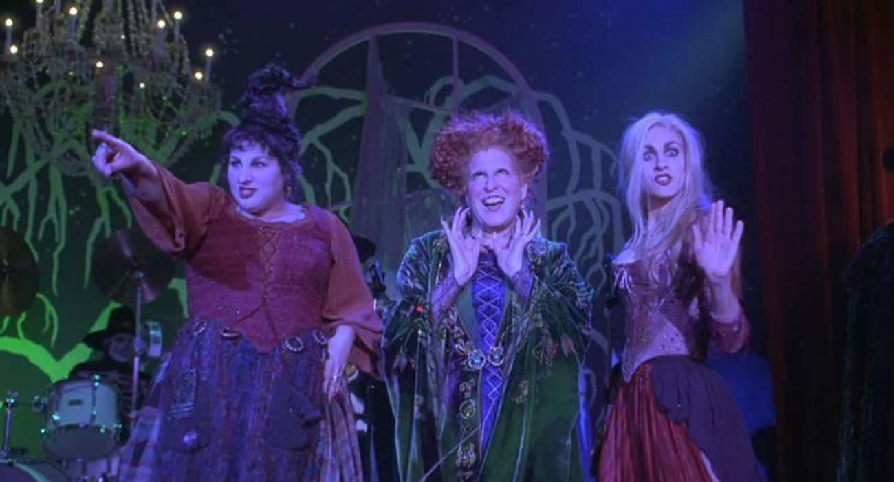 It's Not A Musical is listed (or ranked) 3 on the list All The Ways 'Hocus Pocus' Is The Best Halloween Movie Ever Made