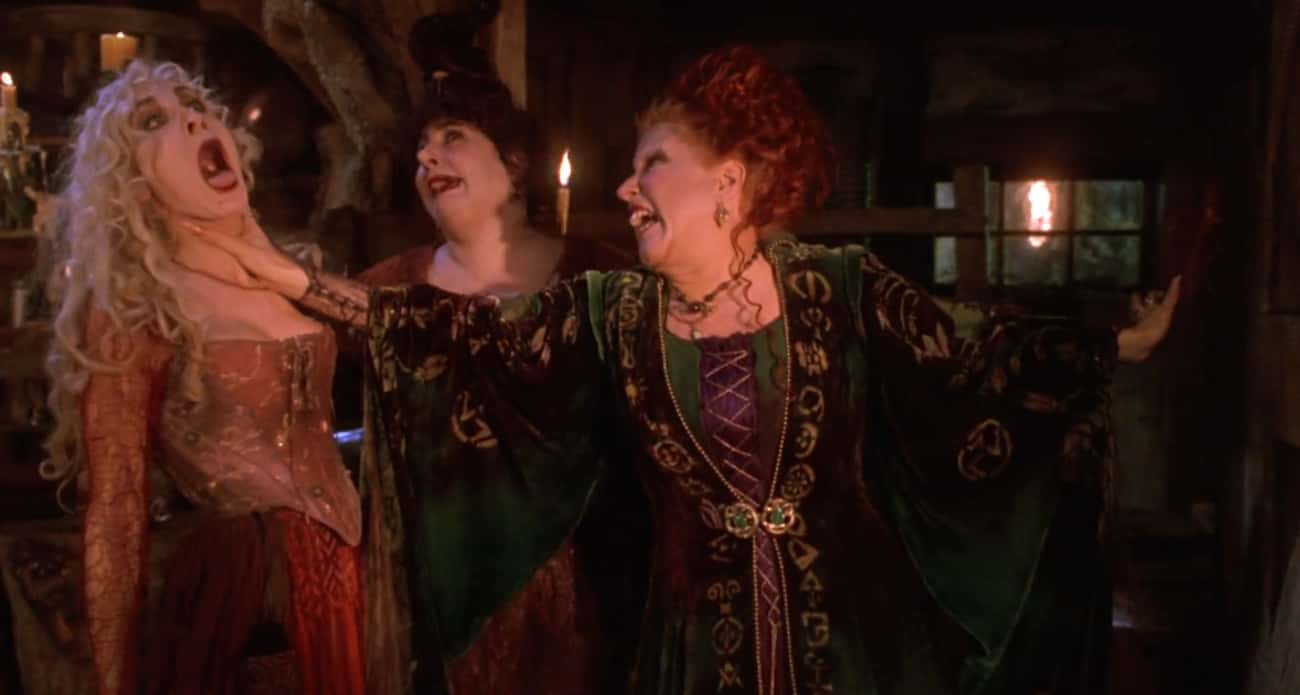 The Sanderson Sisters Are A Pe is listed (or ranked) 1 on the list All The Ways 'Hocus Pocus' Is The Best Halloween Movie Ever Made