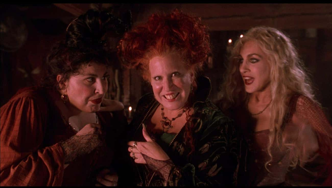The Acting Is Great, The Pacin is listed (or ranked) 4 on the list All The Ways 'Hocus Pocus' Is The Best Halloween Movie Ever Made