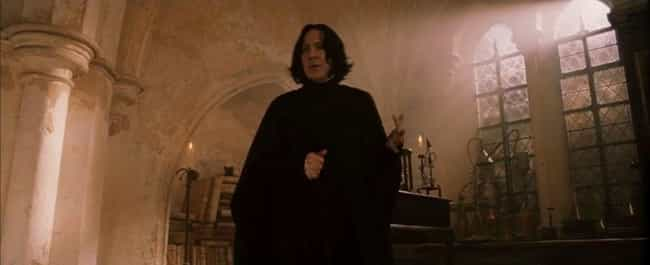 It All Starts With The F... is listed (or ranked) 1 on the list So, It Turns Out Professor Snape Is Transgender (According To Tumblr)