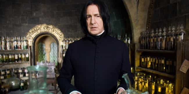 Snapes Affinity For Potions Is... is listed (or ranked) 4 on the list So, It Turns Out Professor Snape Is Transgender (According To Tumblr)