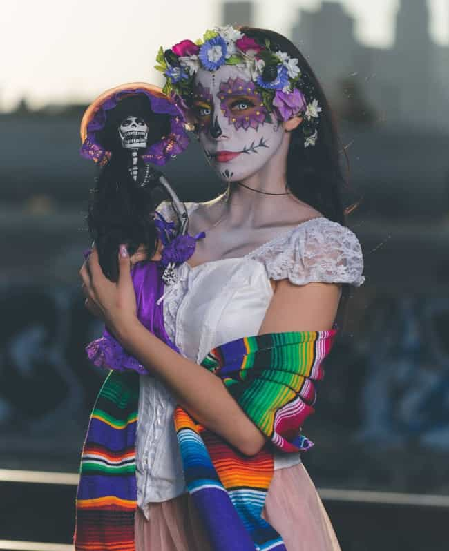 Friends Forever is listed (or ranked) 2 on the list Best Dia De Los Muertos Sugar Skull Makeup Looks