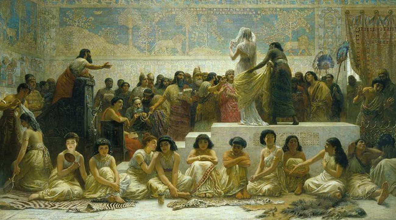The Babylonians Had A Marriage is listed (or ranked) 2 on the list Why Are Wedding Dresses White?