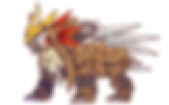 Entei is listed (or ranked) 4 on the list Pokémon Have Some Seriously Badass Mecha Transformations