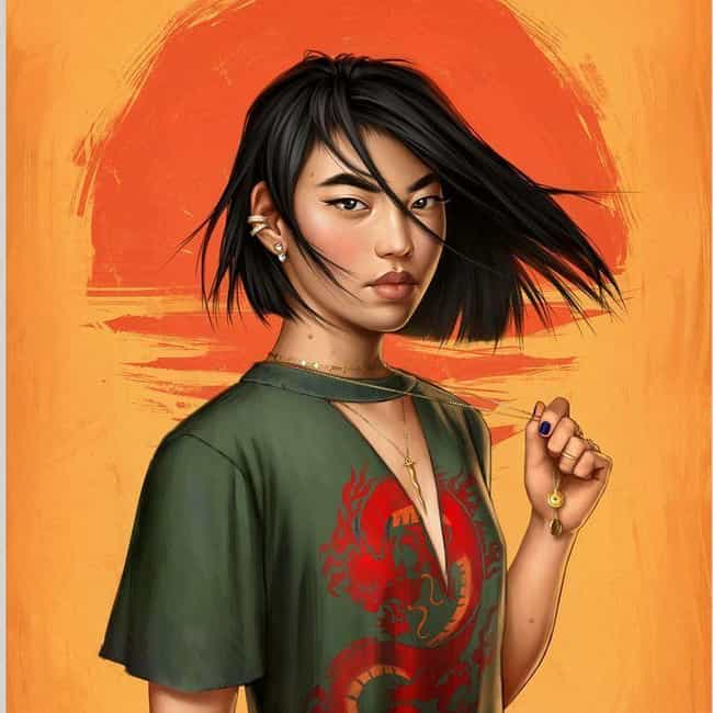 Mulan Is Still The Undis... is listed (or ranked) 4 on the list This Artist Reimagines Your Favorite Female Disney Characters As Modern-Day Women