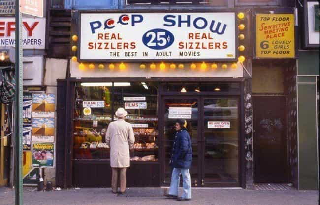 Brothels And Bargain-Price Pee... is listed (or ranked) 1 on the list A Harrowing Peek Through The Grimy, Crime-Infested Streets of 1970s New York City