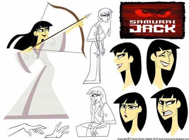 Samurai Jackie Looks Fie... is listed (or ranked) 1 on the list Genderswapped Fan Art Of Classic Cartoon Network Characters That Will Make You Look Twice