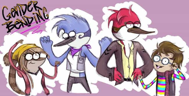 The Regular Show Charact... is listed (or ranked) 4 on the list Genderswapped Fan Art Of Classic Cartoon Network Characters That Will Make You Look Twice