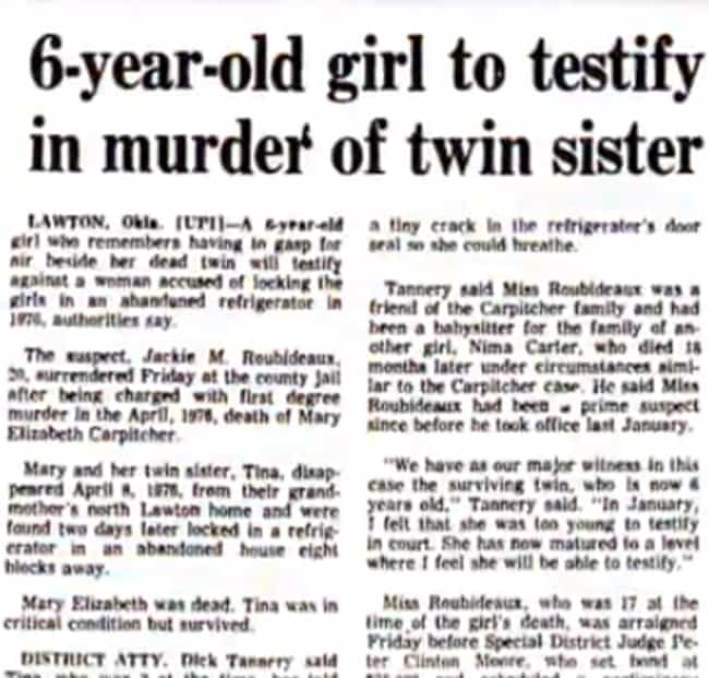 A Neighbor Could Have St... is listed (or ranked) 4 on the list The Halloween Baby Murder From 1977 Is Still An Unsolved Mystery