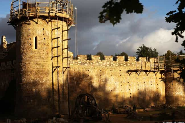 The Builders Are Only Using Te... is listed (or ranked) 3 on the list People In France Are Building A Medieval Castle Using Only Medieval Methods - And It Looks Amazing