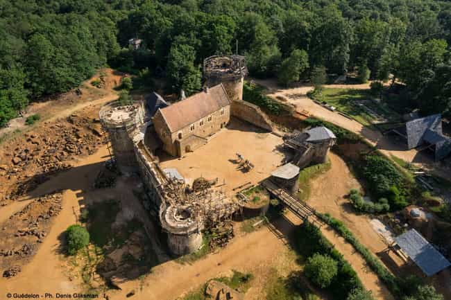 The Castle's Location Is C... is listed (or ranked) 2 on the list People In France Are Building A Medieval Castle Using Only Medieval Methods - And It Looks Amazing