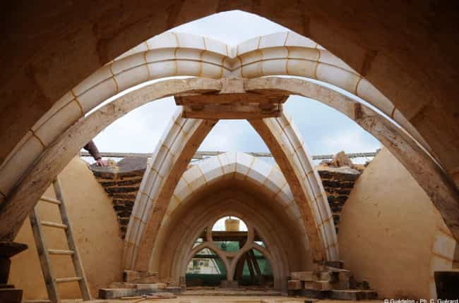 The Stone Arches Are An Engine... is listed (or ranked) 4 on the list People In France Are Building A Medieval Castle Using Only Medieval Methods - And It Looks Amazing