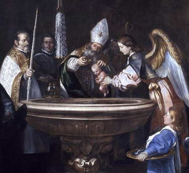 Secretly Baptizing The C... is listed (or ranked) 7 on the list The Caul: History's Strangest Protective Charm