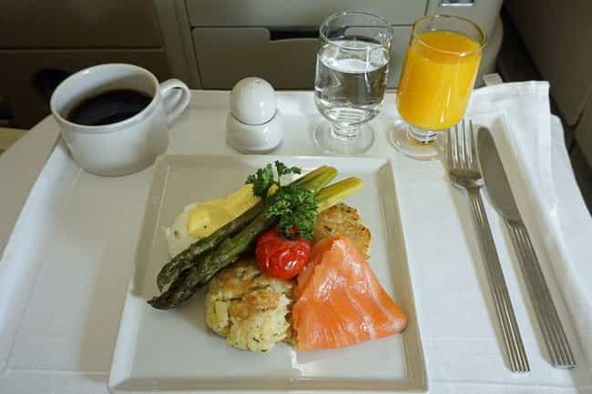 Singapore Airlines is listed (or ranked) 4 on the list Here's What Airplane Food Looks Like Around The World