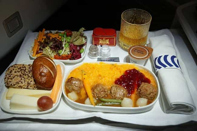 Finnair is listed (or ranked) 4 on the list Here's What Airplane Food Looks Like Around The World