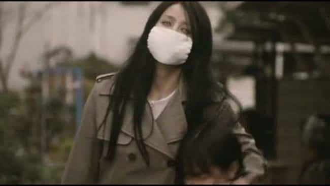 Kuchisake-onna is listed (or ranked) 2 on the list These Lesser-Known Paranormal Entities Are Far More Terrifying Than Your Average Ghost
