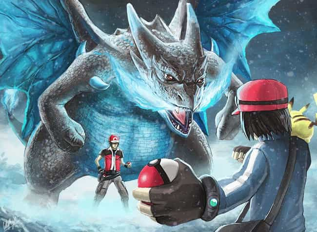 Hopefully Dude's Got Something... is listed (or ranked) 4 on the list These Artists Imagine Pokémon Battles As You've Never Seen Them Before