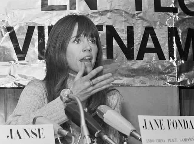 Fonda Was Actually Pro-Vietnam... is listed (or ranked) 1 on the list When The FBI Went To War With Jane Fonda –And Won