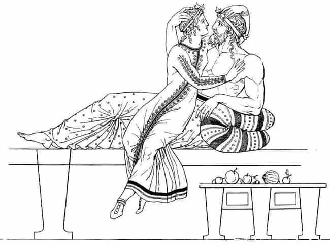 The Ancient Greeks Said It's A... is listed (or ranked) 3 on the list 15 Completely Bonkers Ways People Used To Try To Control The Gender Of Their Baby
