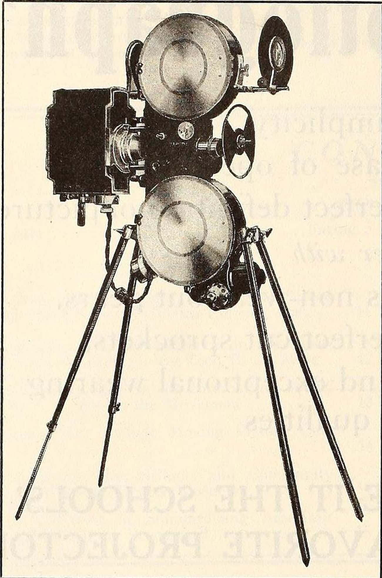 Movie Cameras Weren't Something Edison Knew A Lot About But He Took Credit For Them Anyway