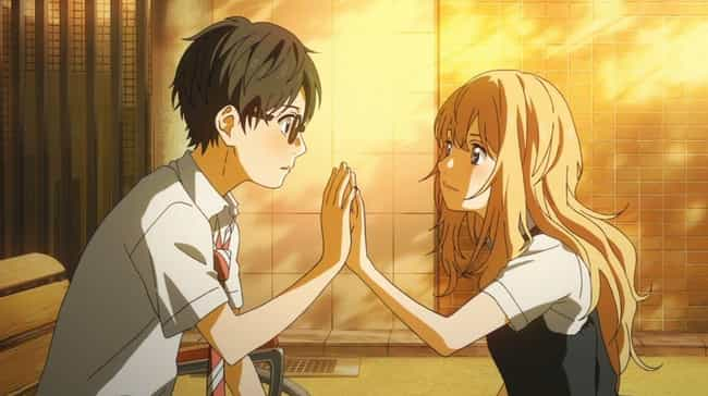 Kaori And Kousei - Your Lie In... is listed (or ranked) 1 on the list The 15 Best First Meetings In Anime