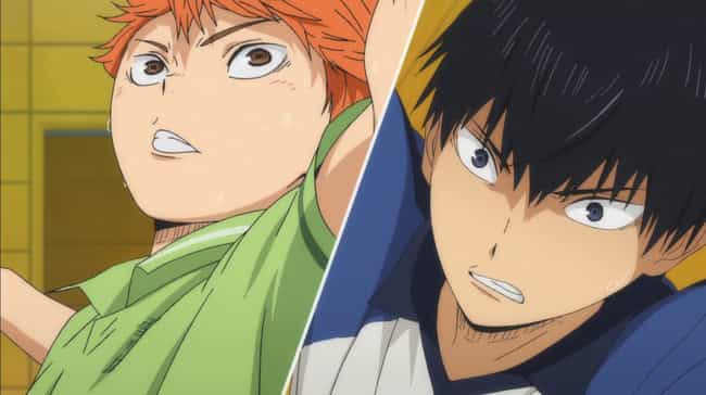 Hinata And Kageyama - Haikyu!! is listed (or ranked) 4 on the list The 15 Best First Meetings In Anime