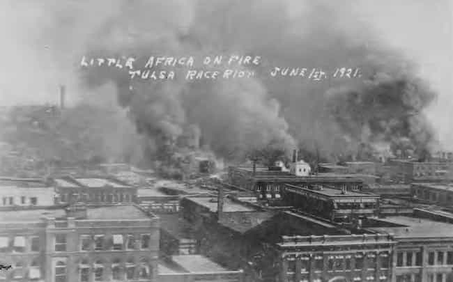 "Tulsa's ""Black Wall Street"" Wa... is listed (or ranked) 1 on the list In 1921, A Mob Destroyed America's Richest Black Neighborhood And Killed 300 Innocent People"