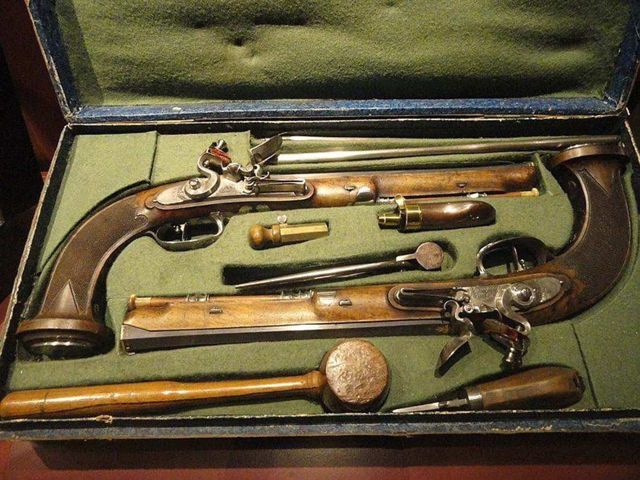 Some People Actually Owned Set is listed (or ranked) 8 on the list Here's What Firearms Looked Like When The Founding Fathers Wrote The Second Amendment