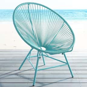 Acapulco Chair is listed (or ranked) 2 on the list Types of Chairs