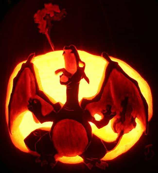 The Candle In This Chari... is listed (or ranked) 4 on the list 17 Awesomely Nerdy Pokémon Pumpkin Carvings You Can Totally Make At Home
