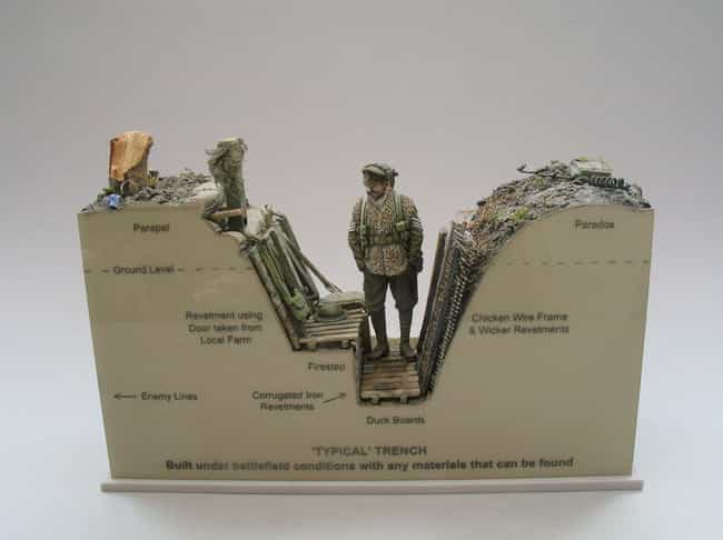 Making Models Is The Art... is listed (or ranked) 1 on the list This Guy Makes Super Detailed Trench Warfare Miniatures And They're Fascinating