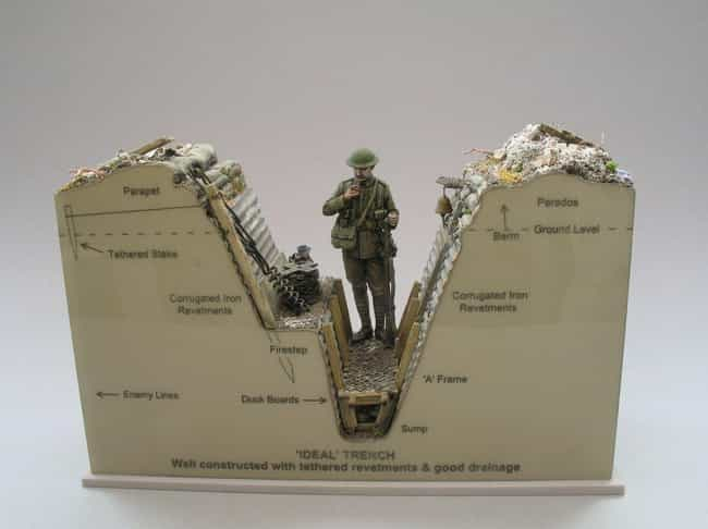 Belsey Has Had A Passion... is listed (or ranked) 3 on the list This Guy Makes Super Detailed Trench Warfare Miniatures And They're Fascinating