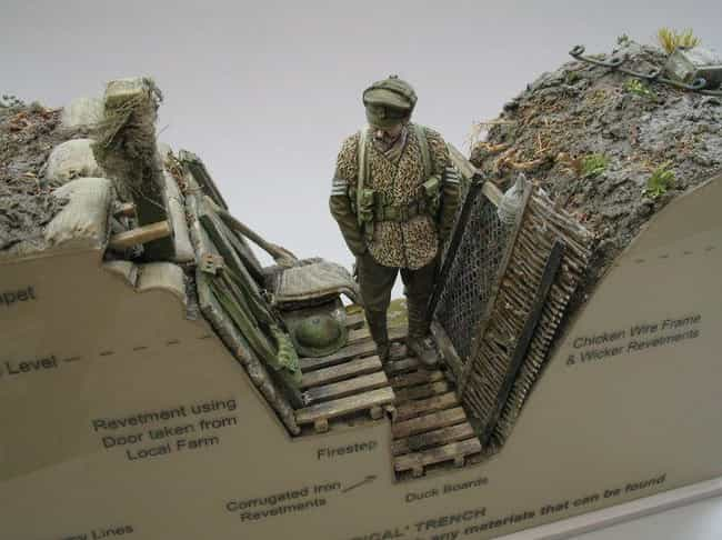 The Models Show How The ... is listed (or ranked) 2 on the list This Guy Makes Super Detailed Trench Warfare Miniatures And They're Fascinating