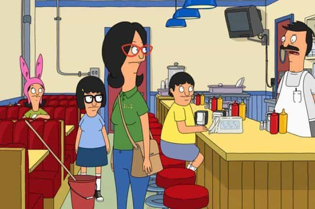 Bob's Can't Seat Many ... is listed (or ranked) 2 on the list This Guy Figured Out Exactly How Much Bob's Burgers Actually Makes, And The Results Are Terrifying