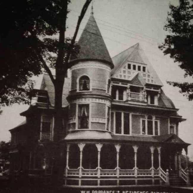 The W.H. Dorrance House ... is listed (or ranked) 1 on the list What's Going On With This Suspiciously Cheap Mansion Everyone Refuses To Buy?