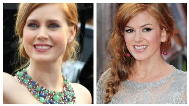 Amy Adams And Isla Fishe... is listed (or ranked) 3 on the list Celebs Who Always Get Mistaken For Each Other