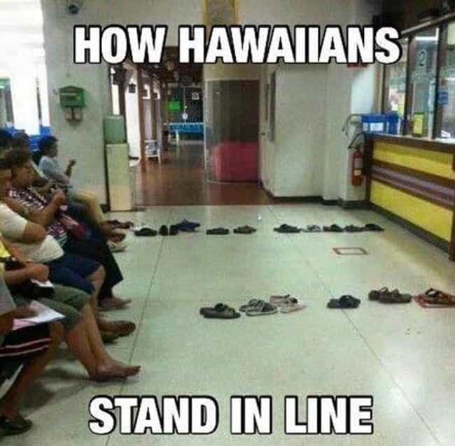 Flip Flop Lines is listed (or ranked) 4 on the list Hilarious Photos That Perfectly Describe Every American State