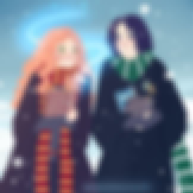 A Moment Of Magical Connection is listed (or ranked) 3 on the list Fan Art Of Lily Evans And Severus Snape That Will Break Your Heart All Over Again