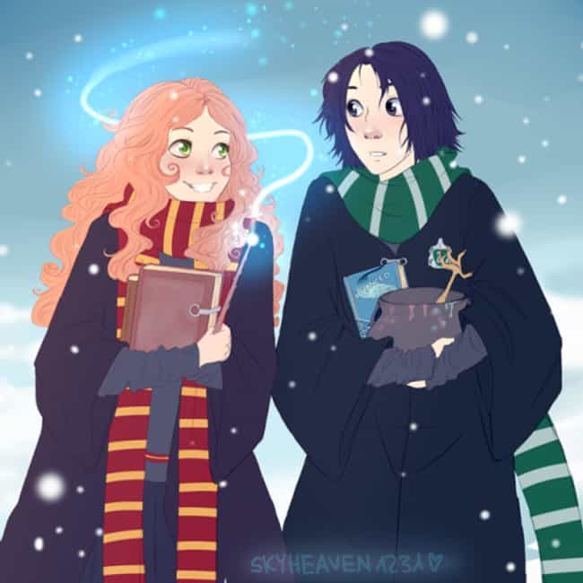 Fan Art Of Lily Evans And Severus Snape That Will Break Your Heart All Over  Again