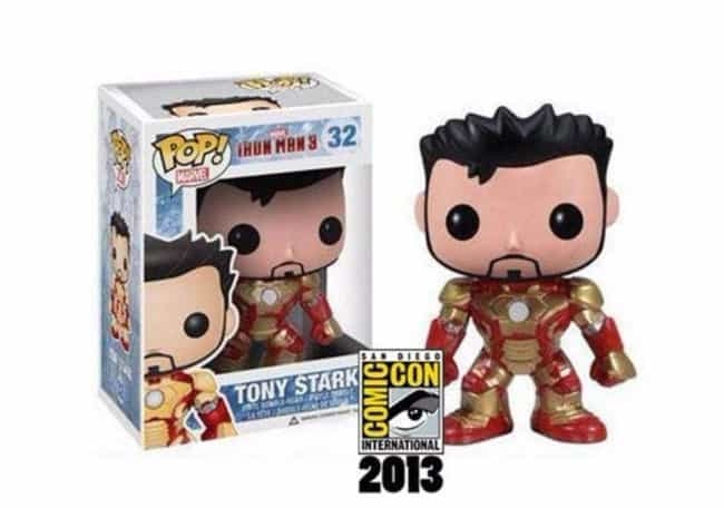 The Iron Man 3 Tony Star... is listed (or ranked) 3 on the list People Are Spending Absurd Amounts Of Money On The Rarest Funko Pops Of All Time