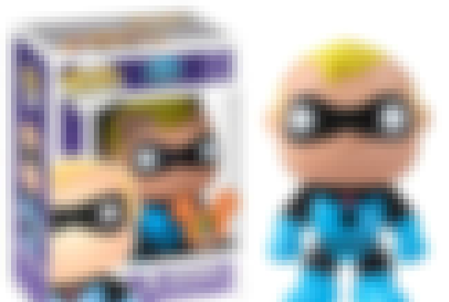 The Blue Suit Mr. Incredible is listed (or ranked) 4 on the list People Are Spending Absurd Amounts Of Money On The Rarest Funko Pops Of All Time