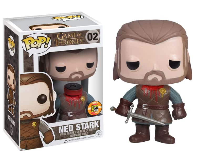 Beheaded Ned Stark (With Detachable Head)