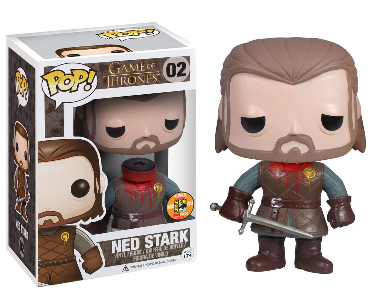 Beheaded Ned Stark (With Detachable Head)