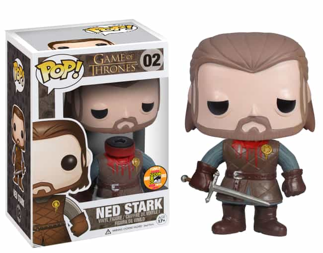 Beheaded Ned Stark (With Detac... is listed (or ranked) 1 on the list People Are Spending Absurd Amounts Of Money On The Rarest Funko Pops Of All Time