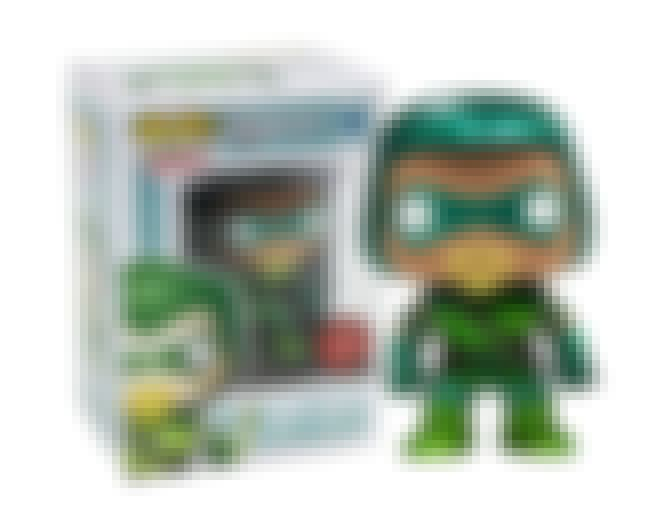 Metallic Green Arrow is listed (or ranked) 3 on the list People Are Spending Absurd Amounts Of Money On The Rarest Funko Pops Of All Time