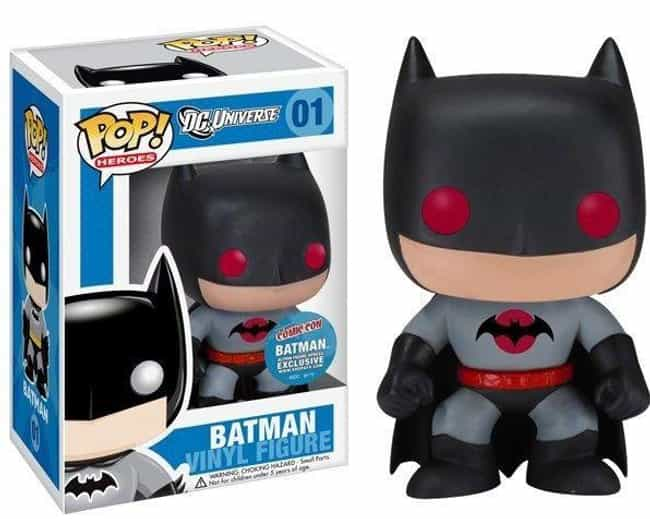 Flashpoint Batman is listed (or ranked) 4 on the list People Are Spending Absurd Amounts Of Money On The Rarest Funko Pops Of All Time