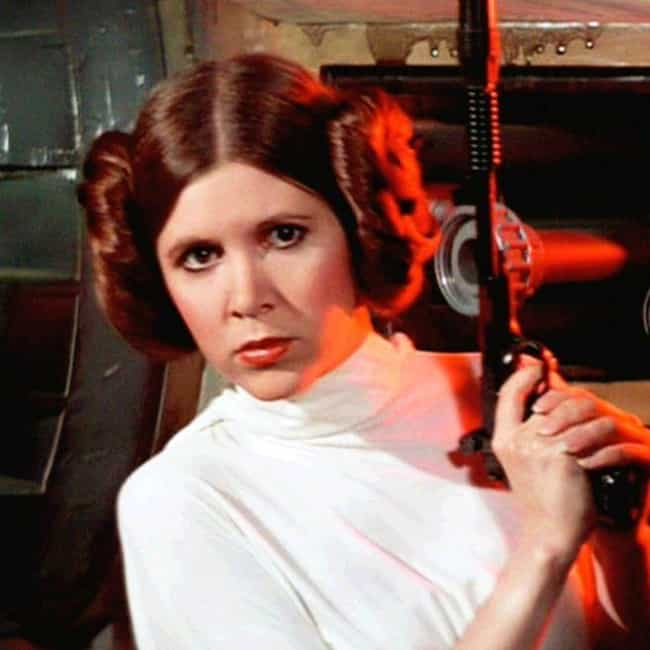 Carrie Fisher Claims The... is listed (or ranked) 4 on the list The Decades-Old Rumor About How Mark Hamill's Face Changed 'Empire Strikes Back'