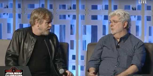And He Privately Told Hamill A... is listed (or ranked) 3 on the list How Mark Hamill's Messed Up Face In The Empire Strikes Back Led To A Three-Decade Mystery